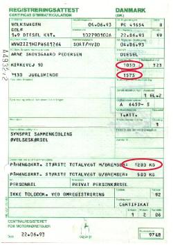 registreringsattest bil